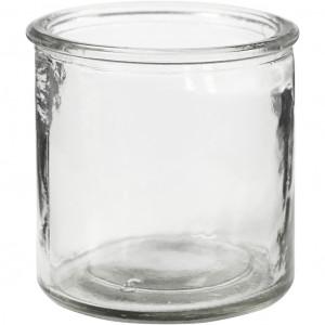 Lysglass, H: 7,8 cm, dia. 7,8 cm, 6 stk.