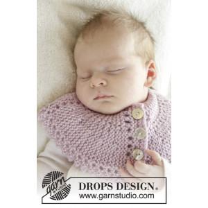 Serene by DROPS Design - Baby Halsrør Strikkeoppskrift str. 0/3 mdr - 3/4 år