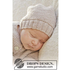 In my dreams by DROPS Design - Baby Lue Strikkeoppskrift str. Prematur - 3/4 år
