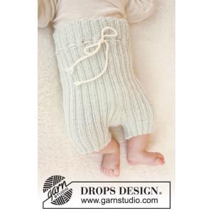 First Impression Shorts by DROPS Design - Baby shorts Strikkeoppskrift str. Prematur - 4 år