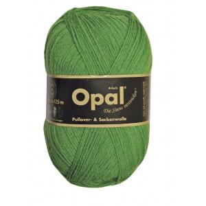 Opal Uni 4-trådet Garn Unicolor 1990 Gressgrønn
