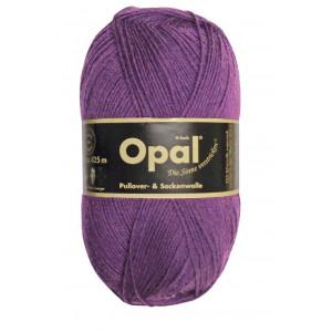 Opal Uni 4-trådet Garn Unicolor 3072 Fiolett