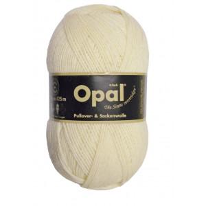 Opal Uni 4-trådet Garn Unicolor 3081 Natur