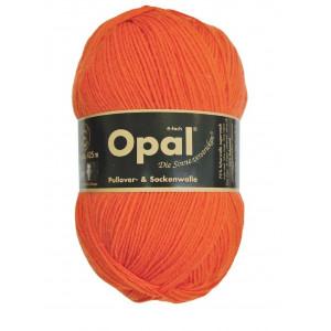 Opal Uni 4-trådet Garn Unicolor 5181 Oransje