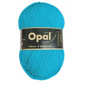 Opal Uni 4-trådet Garn Unicolor 5183 Turkis