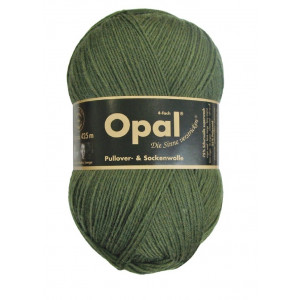Opal Uni 4-trådet Garn Unicolor 5184 Oliven