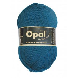 Opal Uni 4-trådet Garn Unicolor 5187 Petrol