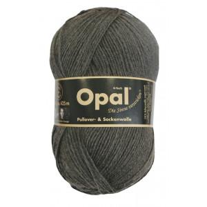 Opal Uni 4-trådet Garn Unicolor 5191 Antrasit Melert