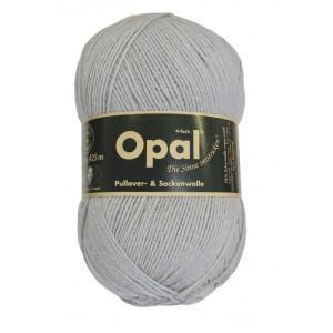 Opal Uni 4-trådet Garn Unicolor 5193 Mellomgrå