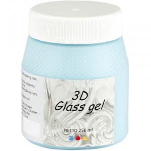 Bilde av 3d Glass Gel, 250 Ml, Azure Transparent Gl