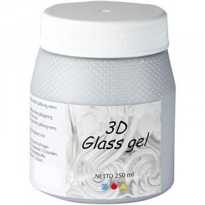 Bilde av 3d Glass Gel, 250 Ml, Silver