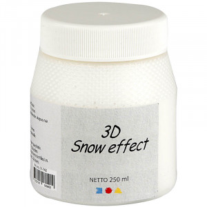 Bilde av 3d Snow Effekt, 250 Ml, Hvit