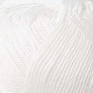 Järbo 8/4 Garn Unicolor 2210 Hvit 200g