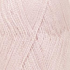 Drops Lace Garn Unicolor 3112 Støvet Rosa 50g