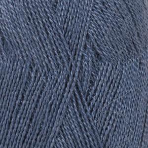 Drops Lace Garn Unicolor 6790 Kongeblå 50g