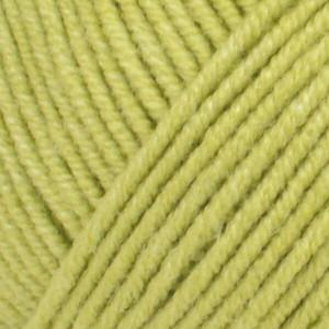 Järbo Elise Garn Unicolor 69222 Limegrønn