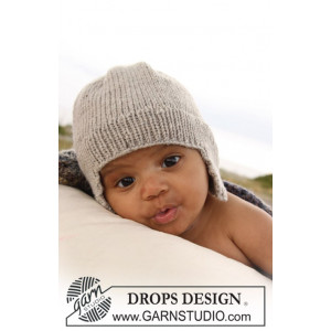 Samuel Lue by DROPS Design - Baby Lue Strikkeoppskrift str. 1/3 mdr - 3/4 år