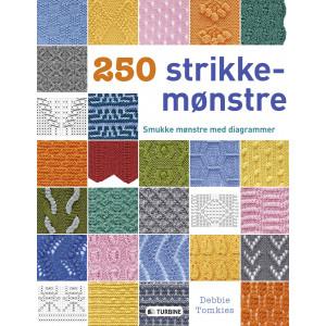 Bilde av 250 Strikkemønstre - Bok På Dansk Av Debbie Tomkies