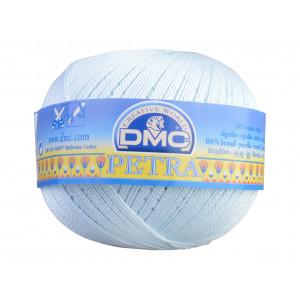 DMC Petra nr. 5 Heklegarn Unicolor 54462 Isblå