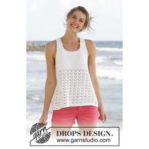 Holiday Bliss by DROPS Design - Topp Strikkeopskrift str. S - XXXL