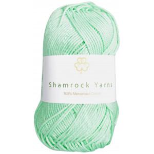 Shamrock Yarns Mercerisert Bomull 140 Mintgrønn