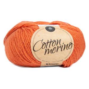 Mayflower Easy Care Cotton Merino Garn Solid 26 Støvet Oransje
