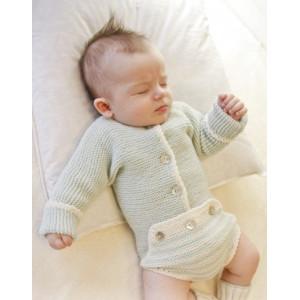First Impression by DROPS Design - Baby Body Strikkeoppskrift str. Prematur - 4 år