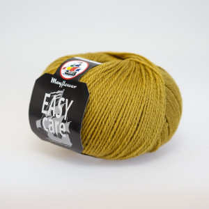 Mayflower Easy Care Garn Unicolor 84 Lys Oliven