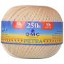 DMC Petra nr. 5 Hæklegarn 001 Natur - 250 gram