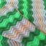Lagermannens Babyteppe av Rito Krea - Baby Teppe Hekleoppskrift 70x100cm