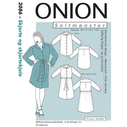 Onion 9025 Skjorte & skjortekjole, pluss størrelse