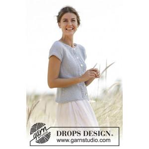Charlotte Cardigan by DROPS Design - Cardigan Strikkeopskrift str. S - XXXL
