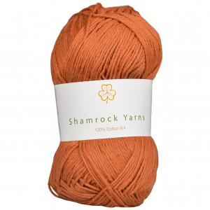 Shamrock Yarns 100% Bomull 8/4 Garn 07 Støvet Lys Brun