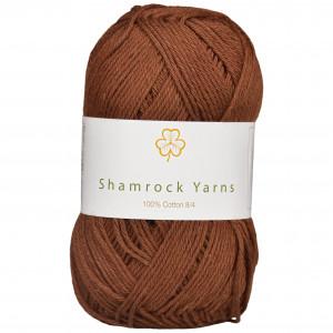 Shamrock Yarns 100% Bomull 8/4 Garn 08 Mørkebrun