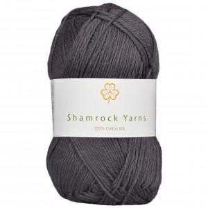 Shamrock Yarns 100% Bomull 8/4 Garn 06 Mørk Koksgrå