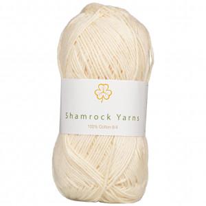 Shamrock Yarns 100% Bomull 8/4 Garn 03 Natur