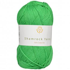 Shamrock Yarns 100% Bomull 8/4 Garn 15 Frisk Grønn