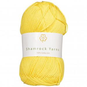 Shamrock Yarns 100% Bomull 8/4 Garn 26 Gul