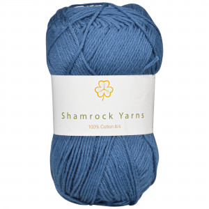 Shamrock Yarns 100% Bomull 8/4 Garn 09 Marineblå