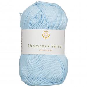Shamrock Yarns 100% Bomull 8/4 Garn 27 Lyseblå