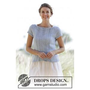 Charlotte by DROPS Design - Topp Strikkeopskrift str. S - XXXL