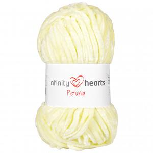 Infinity Hearts Petunia Garn 02 Lys Gul