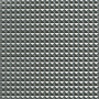 Kunstlær Pyramider Stoff 140cm 17 Lys grå metallic - 50cm