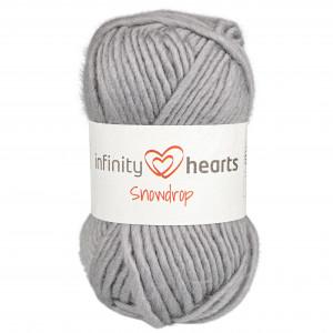 Infinity Hearts Snowdrop 04 Mellomgrå
