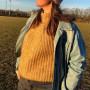 Weaping Willow Sweater av Rito Krea - Sweater Strikkeoppskrift Str. S-XL