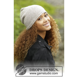 Dakota by DROPS Design - Lue Strikkeopskrift S/M - M/L