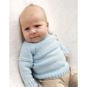 McDreamy by DROPS Design - Baby Blue Strikkeoppskrift str. 1 mdr - 4 år