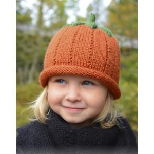 Sweet Pumpkin by DROPS Design - Lue Strikkeoppskrift str. 0/6 mdr - 7/8 år