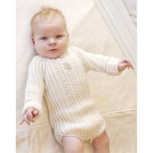 Simply Sweet by DROPS Design - Baby body Strikkeoppskrift str. Prematur - 4 år