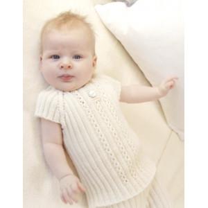Simply Sweet Singlet by DROPS Design - Baby undertrøye Strikkeoppskrift str. Prematur - 4 år